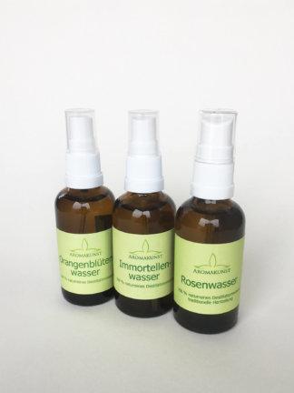 Hydrolate / Pflanzenwässer / Hydrolat-Mischungen